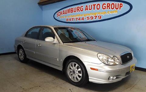 2004 Hyundai Sonata for sale at Schaumburg Auto Group in Schaumburg IL
