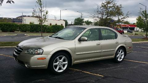 2002 Nissan Maxima for sale at Schaumburg Auto Group in Schaumburg IL