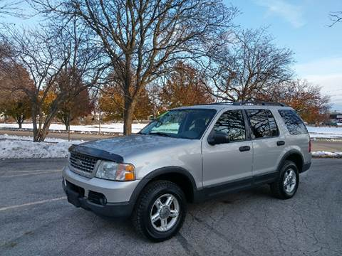 2003 Ford Explorer for sale at Schaumburg Auto Group in Schaumburg IL