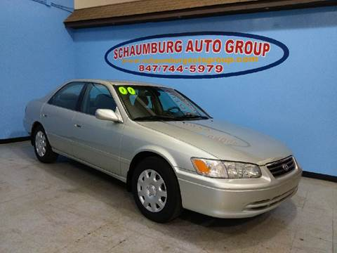2000 Toyota Camry for sale at Schaumburg Auto Group in Schaumburg IL
