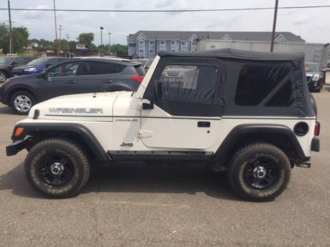 1998 Jeep Wrangler for sale at Singer Auto Sales in Caldwell OH