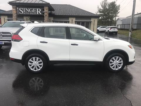 2017 Nissan Rogue S for sale at Singer Auto Sales in Caldwell OH