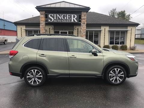 2019 Subaru Forester Limited for sale at Singer Auto Sales in Caldwell OH