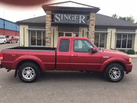 2011 Ford Ranger for sale at Singer Auto Sales in Caldwell OH