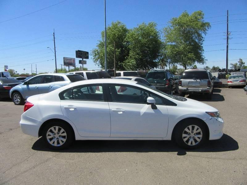 2012 Honda Civic LX 4dr Sedan 5A - Phoenix AZ