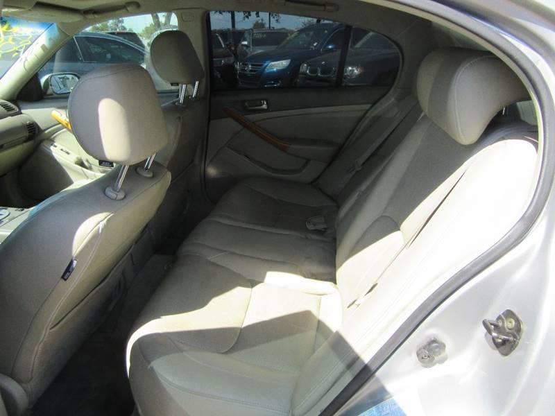 2003 Infiniti G35 Luxury 4dr Sedan w/Leather - Phoenix AZ