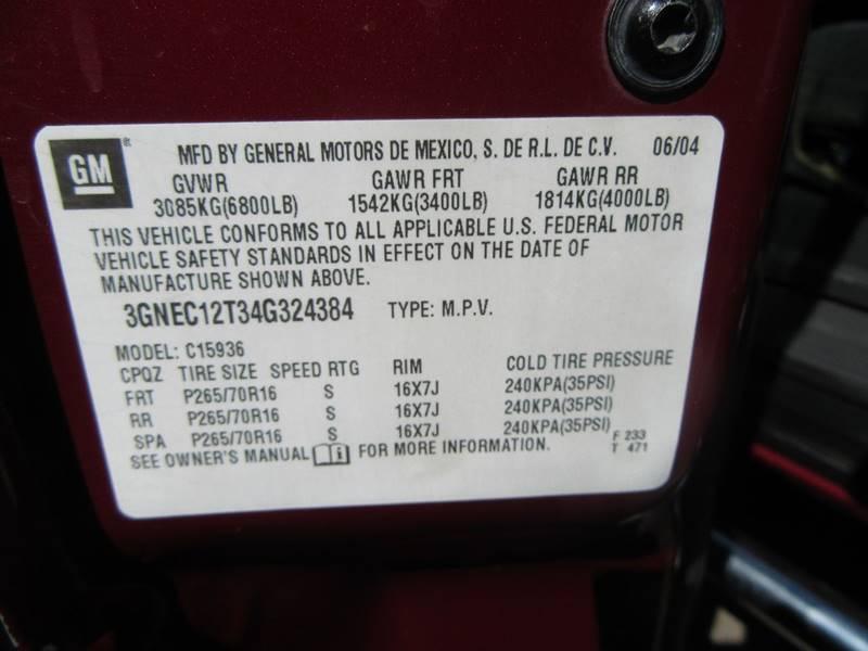 2004 Chevrolet Avalanche 4dr 1500 Crew Cab SB RWD - Phoenix AZ