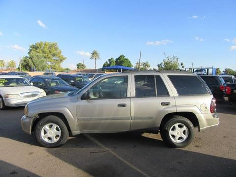 2003 Chevrolet TrailBlazer for sale at Valley Auto Center in Phoenix AZ