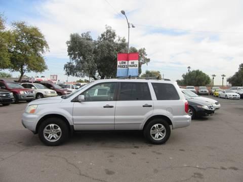 2003 Honda Pilot for sale at Valley Auto Center in Phoenix AZ