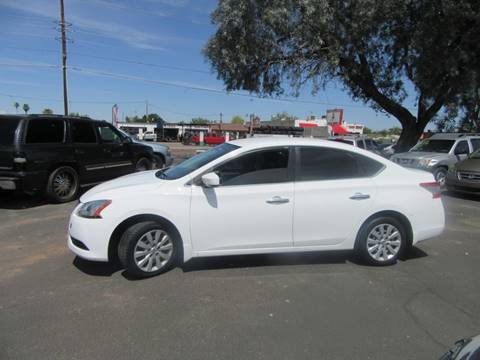 2015 Nissan Sentra for sale at Valley Auto Center in Phoenix AZ