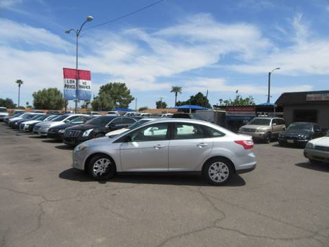2012 Ford Focus for sale at Valley Auto Center in Phoenix AZ