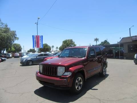 2008 Jeep Liberty for sale at Valley Auto Center in Phoenix AZ