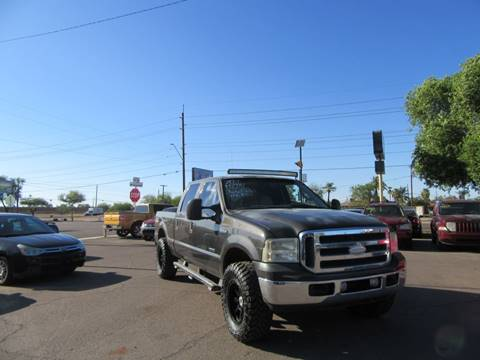 Used Diesel Trucks >> 2006 Ford F 250 Super Duty For Sale In Phoenix Az