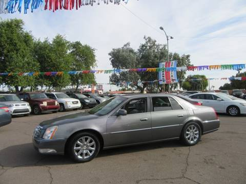 2008 Cadillac DTS for sale at Valley Auto Center in Phoenix AZ