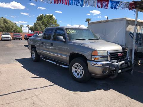2006 GMC Sierra 1500 for sale at Valley Auto Center in Phoenix AZ