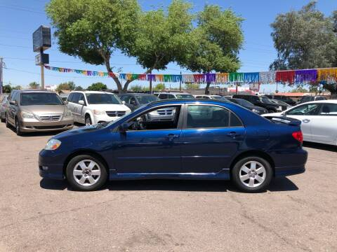 2006 Toyota Corolla for sale at Valley Auto Center in Phoenix AZ