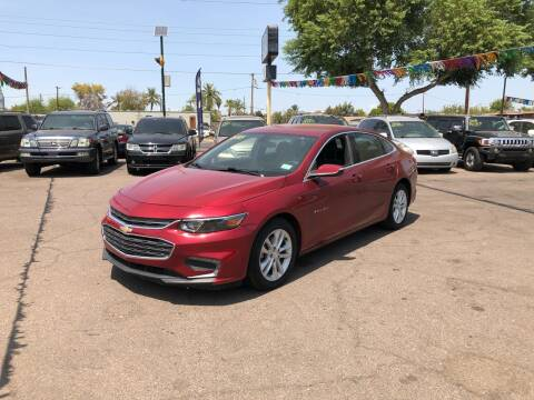 2018 Chevrolet Malibu for sale at Valley Auto Center in Phoenix AZ