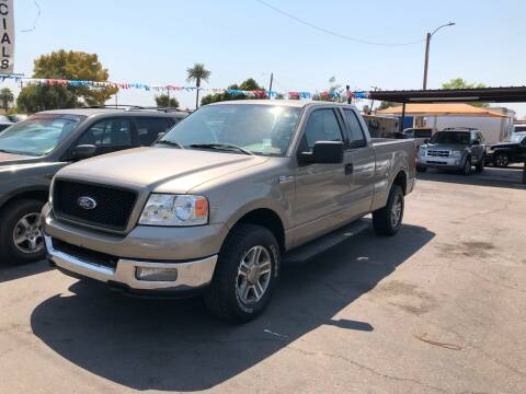 2004 Ford F-150 for sale at Valley Auto Center in Phoenix AZ