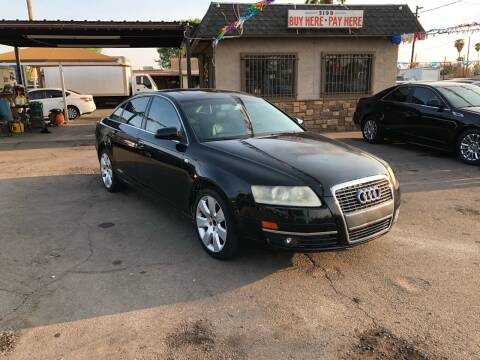 2006 Audi A6 for sale at Valley Auto Center in Phoenix AZ
