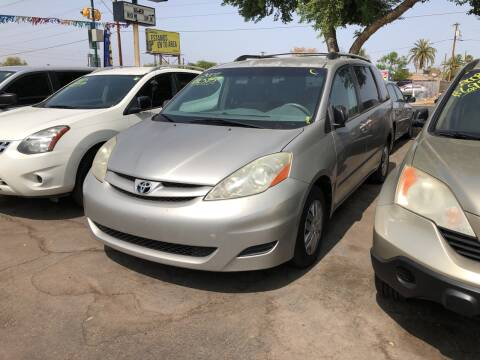 2007 Toyota Sienna for sale at Valley Auto Center in Phoenix AZ