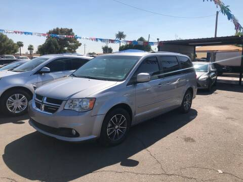 2017 Dodge Grand Caravan for sale at Valley Auto Center in Phoenix AZ