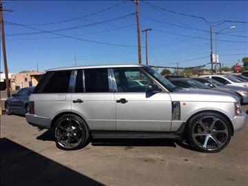 2003 Land Rover Range Rover for sale in Phoenix, AZ