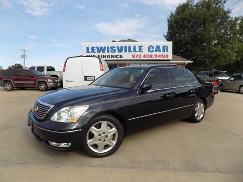 2004 Lexus LS 430 for sale in Lewisville, TX