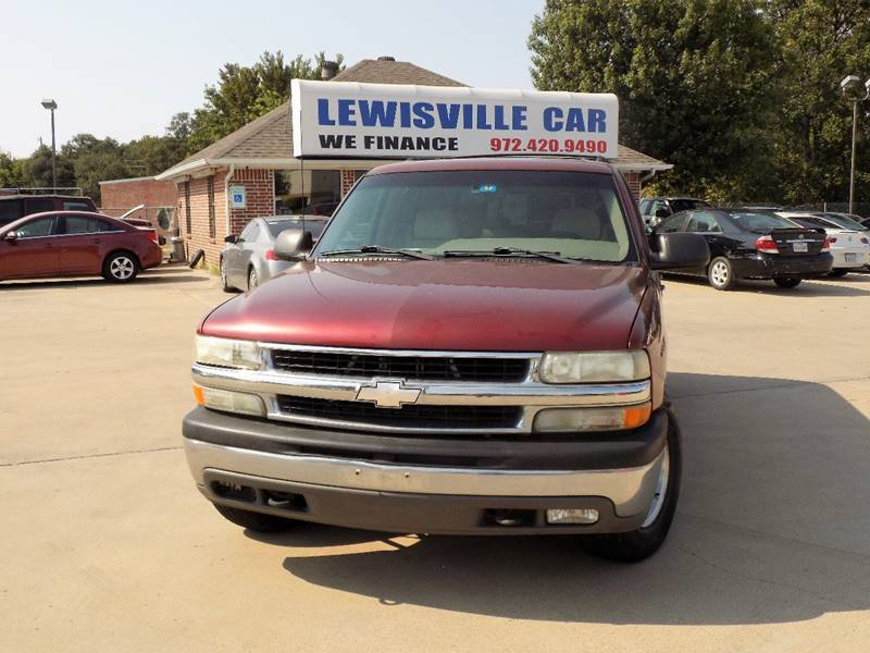 2002 chevrolet suburban 1500 ls 2wd 4dr suv in lewisville tx lewisville car. Black Bedroom Furniture Sets. Home Design Ideas