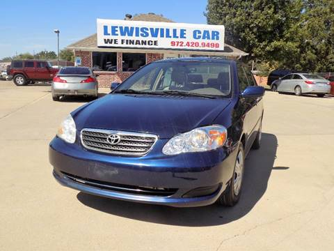 2005 Toyota Corolla for sale in Lewisville, TX