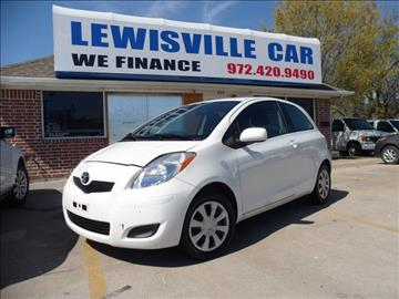 2008 Toyota Yaris for sale at Lewisville Car in Lewisville TX