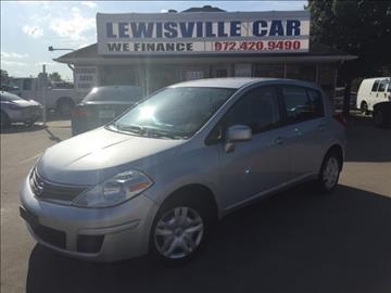 2010 Nissan Versa for sale at Lewisville Car in Lewisville TX