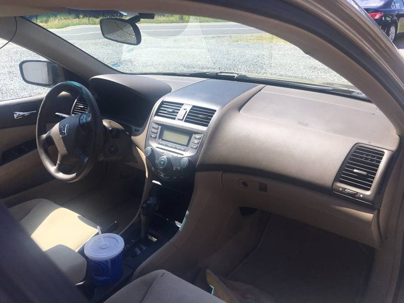 2007 honda accord value package 4dr sedan 2 4l i4 5a in liberty nc cj 39 s choice cars. Black Bedroom Furniture Sets. Home Design Ideas