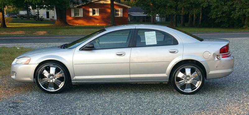 2005 dodge stratus sxt 4dr sedan in liberty nc cj 39 s. Black Bedroom Furniture Sets. Home Design Ideas