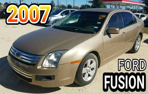 2007 Ford Fusion for sale in Katy, TX