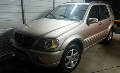 2002 Mercedes-Benz M-Class for sale in Katy, TX