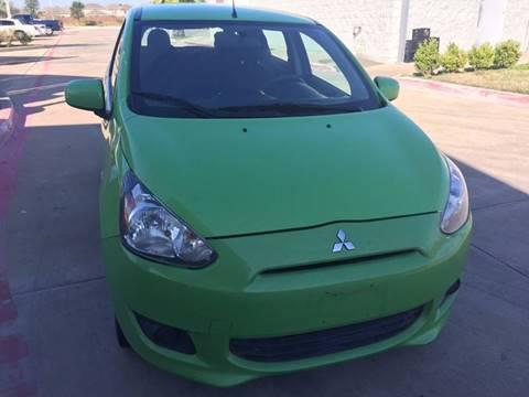 2014 Mitsubishi Mirage for sale in Katy, TX