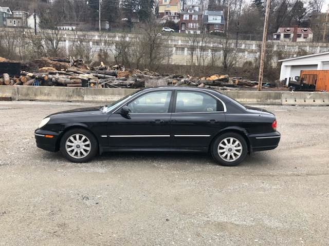 2002 Hyundai Sonata for sale at Compact Cars of Pittsburgh in Pittsburgh PA