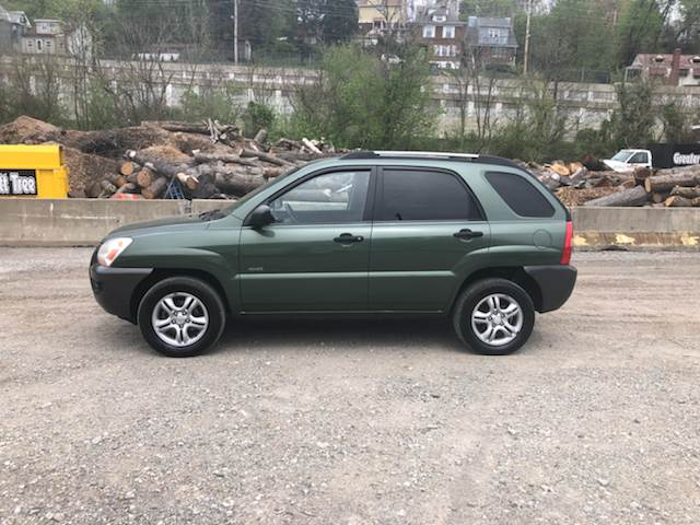 2006 Kia Sportage for sale at Compact Cars of Pittsburgh in Pittsburgh PA