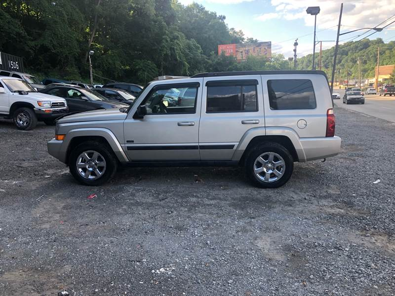 2007 Jeep Commander For Sale At Compact Cars Of Pittsburgh In Pittsburgh PA