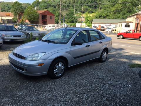 2002 Ford Focus for sale at Compact Cars of Pittsburgh in Pittsburgh PA