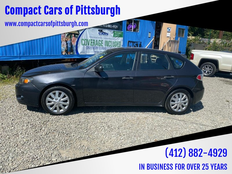 2008 Subaru Impreza for sale at Compact Cars of Pittsburgh in Pittsburgh PA
