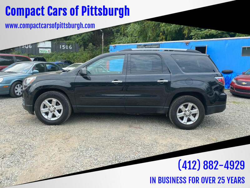 2014 GMC Acadia for sale at Compact Cars of Pittsburgh in Pittsburgh PA