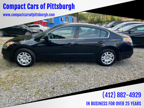 2009 Nissan Altima for sale at Compact Cars of Pittsburgh in Pittsburgh PA