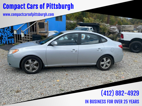 2008 Hyundai Elantra for sale at Compact Cars of Pittsburgh in Pittsburgh PA
