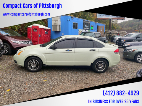 2011 Ford Focus for sale at Compact Cars of Pittsburgh in Pittsburgh PA