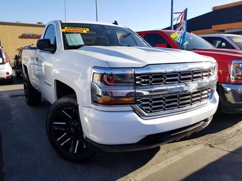 Chevy Trucks For Sale >> 2016 Chevrolet Silverado 1500 For Sale In Fresno Ca