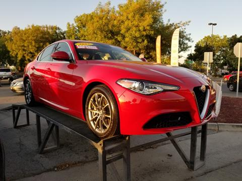 2017 Alfa Romeo Giulia for sale in Fresno, CA