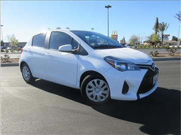 2015 Toyota Yaris for sale in Fresno, CA
