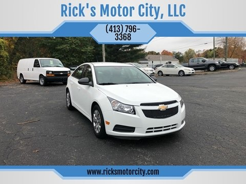 2014 Chevrolet Cruze for sale in Springfield, MA