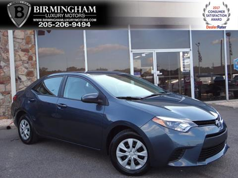 2015 Toyota Corolla for sale in Birmingham, AL